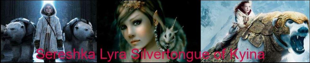 Sereshka Lyra Silvertongue of Kyina - Russian Blue Cat